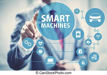 Smart Machines concept image