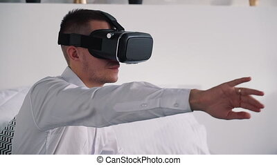 Smart new virtual reality technology for happy gaming and ...