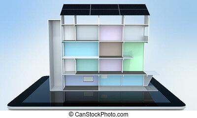 Smart office model on tablet PC