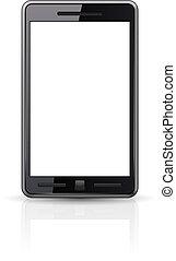 smart-phone, 黒