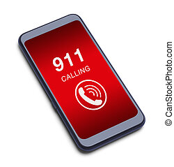 Smart Phone 911 Call