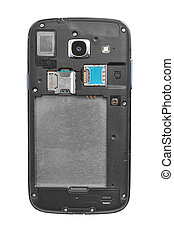 smart phone back board