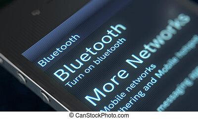Smart phone Bluetooth Icon Image