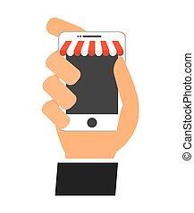 smart phone concept , vector