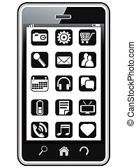 smart phone icons