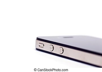 Smart phone isolated on a white background
