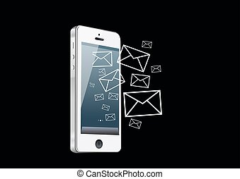 Smart phone mail