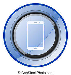 smart phone mobile cell smartphone vector icon