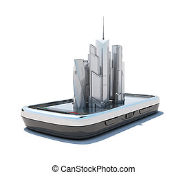 Smart phone mobile maps and navigation