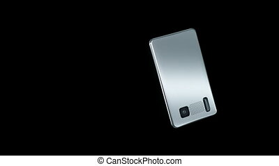 Smart phone with touchscreen: communication technology