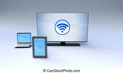 Smart share function with TV