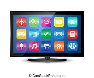 Smart TV - This image represents a Smart TV. / Smart TV