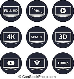 Smart tv icons