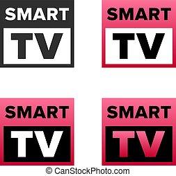 Smart TV symbol
