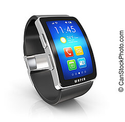 Smart watch - Creative business mobility and modern mobile...