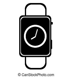 Smart watch wearable with time