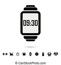 Smart watch with fitness