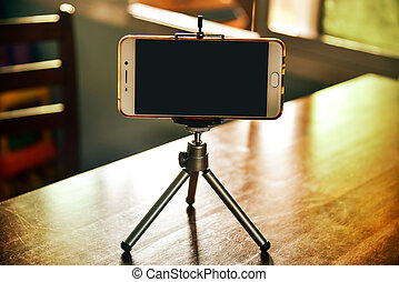 smartphone, 三脚