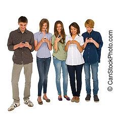 smartphone, ados
