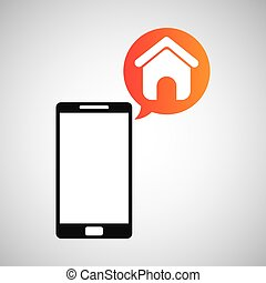 smartphone and homepage application
