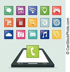 Smartphone applications design. - Smartphone Applications...
