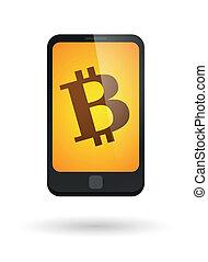 smartphone, bitcoin