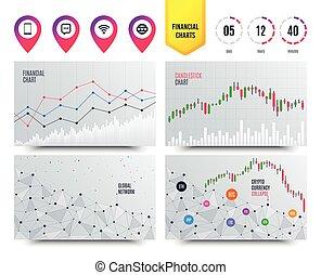 smartphone, bubble., comunicación, icons., vector, charla