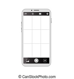 Smartphone camera viewfinder