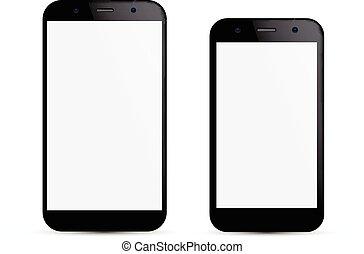 smartphone, concept.