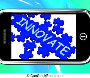 smartphone, creativiteit, innoveren, optredens