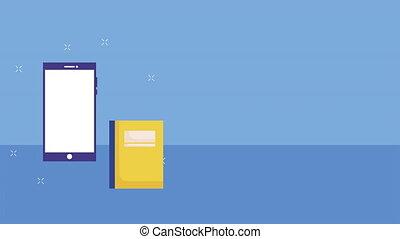 smartphone, education, elearn, ebook