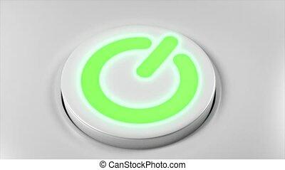 smartphone, fermé, puissance, tv, bouton, virage, commutateur, informatique, appareil, technologie, gadget