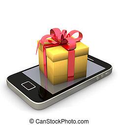 Smartphone Golden Gift