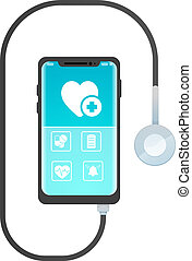 smartphone healthcare application