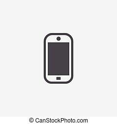 smartphone, icône