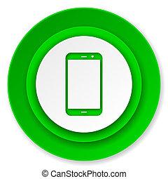 smartphone icon, phone sign