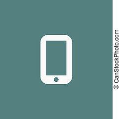 Smartphone icon. Phone symbol vector illustration