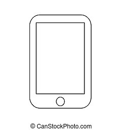 Smartphone icon Vector Illustration