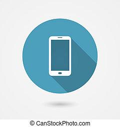 smartphone, icona