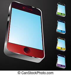 smartphone, ikon