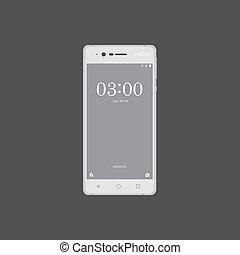 Smartphone illustration vector