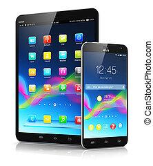 smartphone, informatique, tablette