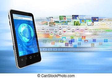 smartphone, internet