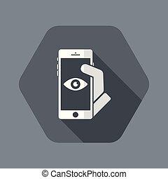 smartphone, intimité