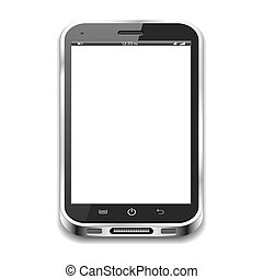 smartphone, isolato
