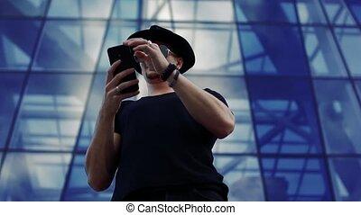 smartphone, jeune homme