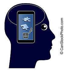 Smartphone kills your Memory