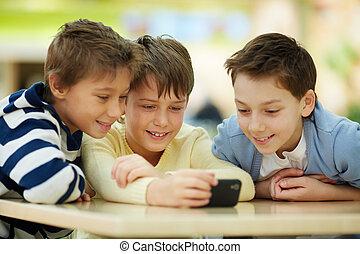 smartphone, kinderen
