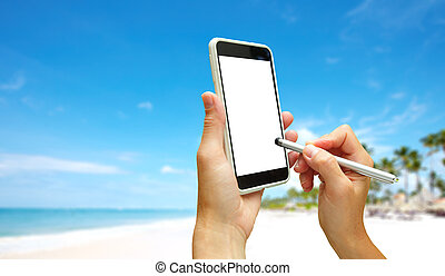 smartphone., main