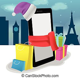Smartphone Mobile Shoping